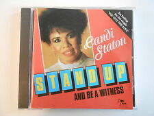 CANDI STATON : STAND UP AND BE A WITNESS [ RARE CD ALBUM PORT GRATUIT ]