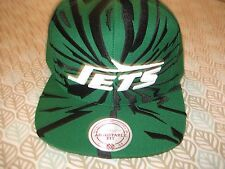 NEW YORK JETS hat cap SNAPBACK Earthquake style Mitchell & Ness nwt
