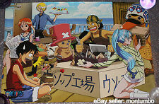RARE One Piece The Animation TV Promo Poster Manga Banpresto Anime Movie Film