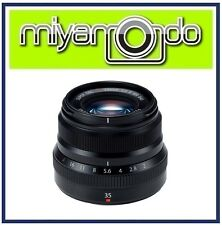 Fujifilm XF 35mm F2 R WR Mirrorless Lens (Black)
