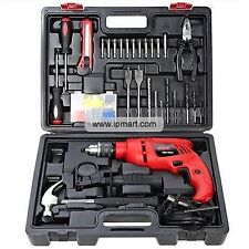 SKIL(BOSCH) 13mm Impact Drill Machine Complete with 138 piece Kit Reverse Hammer