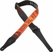 "Levy's MPL2-02 2"" Poly Guitar Strap Beatles Letras De Canciones"