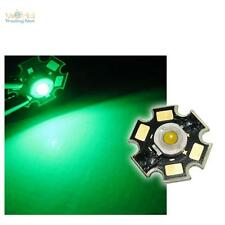 10 x Di alta prestazione LED Chip 3W VERDE HIGHPOWER STAR LED