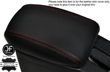 RED STITCHING ARMREST LID LEATHER COVER FITS HONDA CIVIC MB6 MC MA 1996-2000