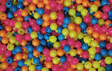 Pop Snap It Novelty Beads 12mm 144pc Multi Neon Colors