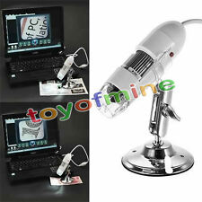 200X cámara de 2MP 2.0 mega píxeles USB Microscopio Digital Endoscopio Lupa LED