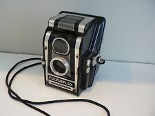 Vintage ROSS ENSIGN FULVUEFLEX Box Camera - SYNCHROFLASH