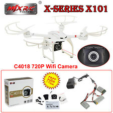 MJX X101 2.4G FPV Wifi RC Drone Quadcopter+C4018 Cam+3in1 Cable+1200mAh Battery