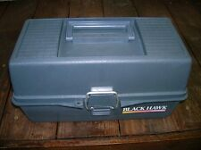 VINTAGE BLACKHAWK WOODSTREAM FISHING TACKLE BOX