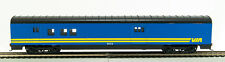 HO 72 Ft Pass. Railway Post Office , RTR Vail Rail (Blue/Yellow)  (1-932)