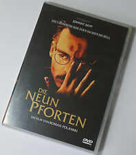 Die neun Pforten - Johnny Depp Roman Polanski DVD TOP! (W2)