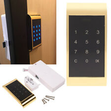 Electronic Touch Keypad Password Key Access Digital Security Cabinet Coded Lock