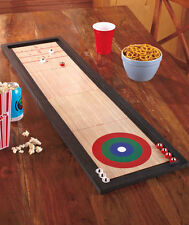 3 In 1 Tabletop Game Shuffleboard Bowling Curling Table Family Indoor Outdoor