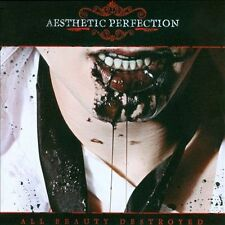 All Beauty Destroyed * by Aesthetic Perfection (CD, Nov-2011, 2 Discs, Metrop...