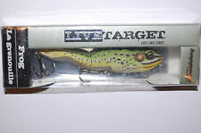 "koppers live target surface walking frog 4 1/8"" 5/8oz green yellow instructions"
