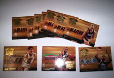 SUPERBE LOT 14 CARTES DE BASKET NBA FLEER 94-95 NBA LEAGUE LEADER