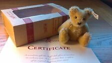 Steiff 2001 CLUB REGALO Mohair REPLICA 7cm in scatola con certificato
