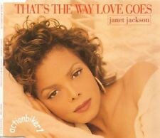 JANET JACKSON - THAT'S THE WAY LOVE GOES # MAXI CD # 1993 #