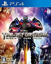 Used PS4 Transforme​rs RISE  SONY PLAYSTATION 4  JAPANESE JAPONAIS IMPORT