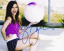 Victoria Justice In-person AUTHENTIC Autographed Photo COA SHA #66558