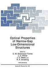 Optical Properties of Narrow-Gap Low-Dimensional Structures (Nato Science Series