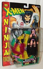 X-Men Ninja Force Psylocke w/Extending Power Sword - Toy Biz 1996