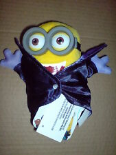 MINIONS MOVIE DELUXE PLUSH BUDDIES 14CM GONE BATTY WITH PVC GLASSES SOFT TOY NEW