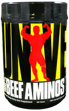 Universal 100% BEEF AMINOS Protein Amino Acid Supplement 400 Tablets