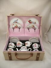 Alice in Wonderland - Large Tea Set w/ Case for Children Reutter  72.588/0