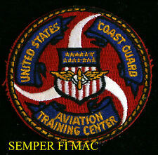 UNITED STATES COAST GUARD AVIATION TRAINING CENTER COLLECTOR PATCH USCG MOBILE