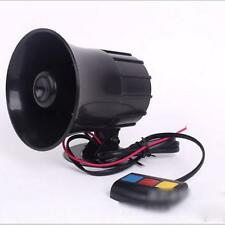 3 Sounds PA System 12V Loud Horn Amplifier Speaker for Motorcycle Car Van Truck