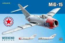 MiG 15 BIS (SOVIET/FAKE NORTH KOREAN & CZECHOSLOVAK AF MARKINGS) 1/72 EDUARD