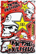 Rockstar Energy Sticker Motocross Enduro Motorcycle Bike ATV Auto Racing Decal 2