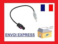ADAPTATEUR fiche  FAKRA ISO MALE CITROEN PEUGEOT OPEL FORD
