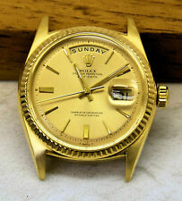 Vintage ROLEX Day Date President 1803 in 18k Yellow gold – Guaranteed all-Rolex