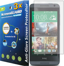 3x Anti-Glare Matte LCD Screen Protector Guard for HTC ONE E8 / HTC Desire 610