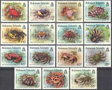 Solomons 1993 Crabs/Marine/Nature/Wildlife/Crustaceans/Conservation 15v (n13360)