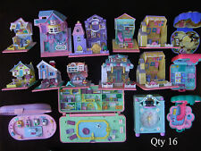 Vintage Polly Pocket Lot - QTY 16