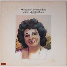 WILMA LEE COOPER & THE CLINCH MOUNTAIN CLAN: A Daisy a Day LP Bluegrass LEATHER