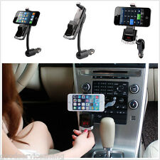 NEW Bluetooth Wireless FM Transmitter MP3 Player USB Charger Phone Stand Holder