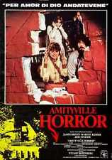 Amityville Horror 1979 Poster 03 A3 Box Canvas Print