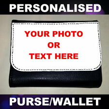 CUSTOMISED PERSONALISED PHOTO MONEY PURSE WALLET GIFT