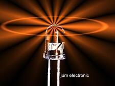 20 Stück Leuchtdioden  /   Led  /  3mm  AMBER   (  mehr  in´s orange gehend  )