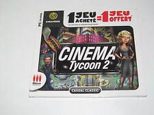 Jeux PC Micro Applications Cinéma Tycoon 2 NEUF