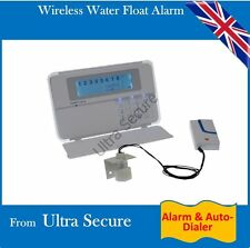 Wireless Water Float Alarm with Built in Siren, Alert & Auto-Dialer
