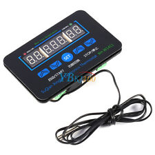 DC12V Multifunction Digital LED Temperature Controller Thermostat Control+ Probe