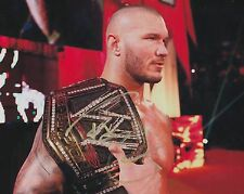 Rare WWE Superstar Randy Orton Signed 8x10 Photo