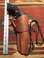 Colt SAA Ruger Vaquero Chiappa & Pietta 1873 Cowboy Western Leather Holster