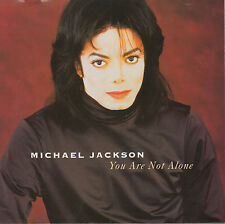 MICHAEL JACKSON You Are Not Alone CD Single