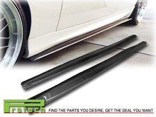 07-13 BMW E92 E93 2Dr M-Tech M Sport Only DP Style Side Skirts Lip Carbon Fiber